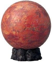 3D球体パズル 240ピース 火星儀 -THE MARS- (直径約15.2cm)