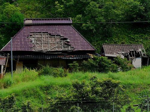depopulated village