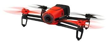 Parrot BeBop Drone 14 MP Full HD 1080p パロット フィッシュアイカメラ クワッドローター (レッド) 【並行輸入品】