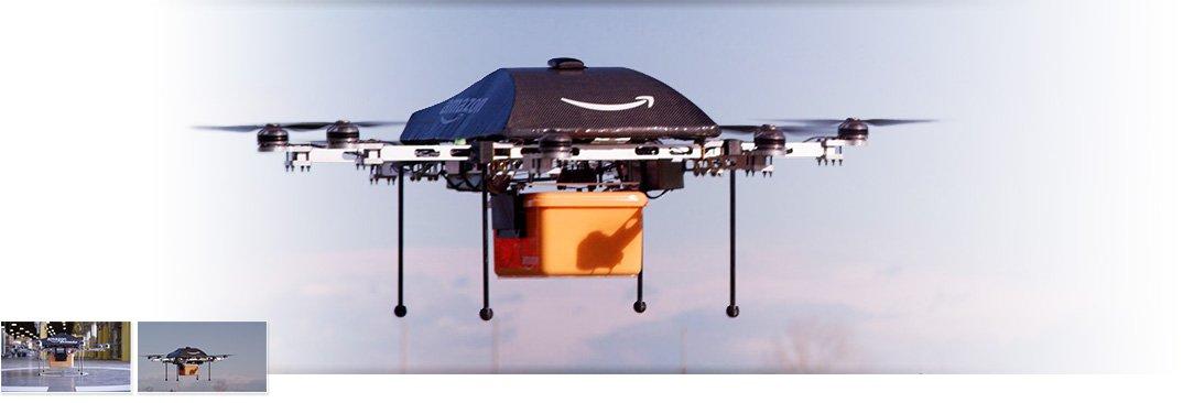 prime-air drone1-b 1074x366Amazon Prime Air Drone